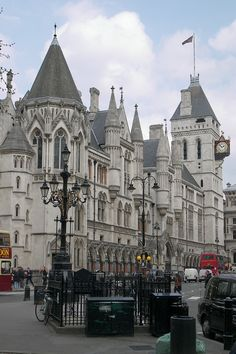 Law Courts, London | by teresue