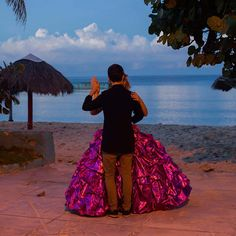 Amanda Teresa Betancur 15 who lives in Cuba practices her opening dance with her boyfriend Erick before her quinceanera party in Havana Cuba. Celebrations known as quinceaneras marking a girl's 15th birthday and recognizing her transition to womanhood date back centuries in Latin America. (Photo 1 of 3) #APPhoto by @aprespinosa Amid Cuba opening Havana's quinceanera business had boomed. Cuban reforms permitting small-scale private businesses and the re-establishment of U.S.-Cuban diplo...
