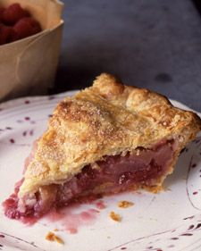 Martha Stewart's Raspberry and Apple Pie with Lucinda Scala Quinn's Pate Brisee...Turned out great!