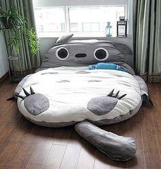 1.8x2.3 m Ogromny Rozmiar Projekt Europejski Śliczne Totoro Miękkie Łóżko Sypialnia Sofa Bed Śpiwór 100% Bawełna Gorąco W Japonii I kanada