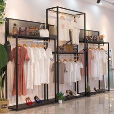 Fashion Store Display, Clothing Store Displays, Clothing Store Design, Fashion Store Design, Cute Clothing Stores, Fashion Shop Interior, Clothing Boutique Interior, Boutique Decor, Showroom Interior Design