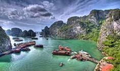 Bahía de Ha Long, Quang Ninh, Vietnam