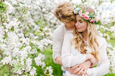 White Blossom Prewedding Shooting mit Ludmilla Parsyak Photography