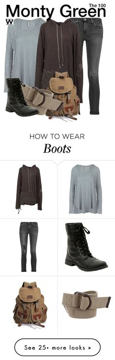 """""""The 100"""" by wearwhatyouwatch on Polyvore featuring AG Adriano Goldschmied, Free People, Greg Lauren, Isabel Marant, television and wearwhatyouwatch"""