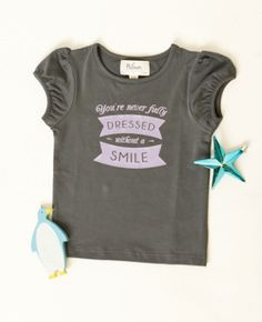 Never Fully Dressed Without a Smile T  ||  Matilda Jane Clothing SOLD