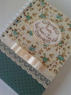 Art Ideas by Dezdemon Notebook Diy, Handmade Notebook, Decorate Notebook, Notebook Covers, Handmade Books, Foam Crafts, Diy Arts And Crafts, Fabric Crafts, Paper Crafts