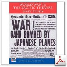 World War II in the Pacific-Japan Attacks Unit Study - Homeschool Learning Network   CurrClick