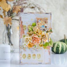 Scraps of Darkness shabby chic card tutorial 2017 Design, Club Design, Mixed Media Cards, Mixed Media Scrapbooking, Diy Scrapbook, Autumn Leaves, Darkness, Shabby Chic, Paper Crafts