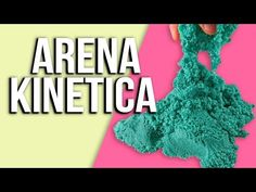 ARENA KINETICA ✨✨DIY FÁCIL ¡INCREÍBLE! - YouTube Kinetic Sand, Youtube, Crochet Necklace, Instagram, Videos, Mariana, Sand Dough, Magic Sand, Paper Crafting