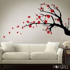 Cherry Blossom 2 colours - Pop Wall Sticker Art by PopWall... review | buy, shop with friends, sale | Kaboodle