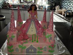 Kasteel/prinsessen taart