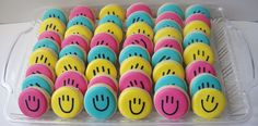 Smiley Face Cookies!! idk why, but these are just the cutest things in the whole entire world!