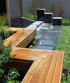 landscaped courtyard designs - Google Search