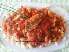 Cozinha Simples da Deia: Caracolinho com Sardinhas e alcaparras
