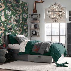 sci fi comics mindthegap bedroom etoffe peint papier panneau boy paneel gap mind boys iamfy fy paper teen