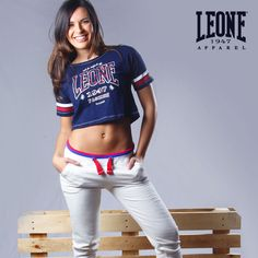 Sporty life. Discover more ▸ http://bit.ly/2pZ6Wil  www.leone1947apparel.com  #WEARECOMBATSPORTS #Leone1947Apparel #spring #summer #collection #new #woman #girl #shoponline #sportswear #casual #look