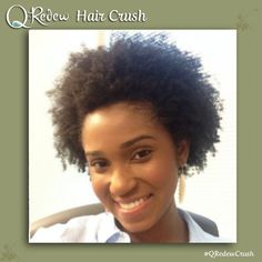 We've got a crush on you! A Hair Crush that is. Each week we will be featuring our favorite naturalistas and curly girls as we share our #QRedewCrush  Today we're featuring Instagram user, curlsnpearls08!  Share your hair crush, too! Post a photo your fabulous hair or your own hair crushes, tagging Q-Redew and it might be our next weekly Hair Crush!  #QRedew #HairCrush