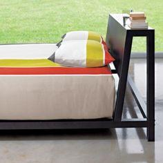 alpine gunmetal bed cb2 bedroom furniture cb2