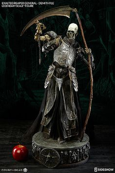 Sideshow Collectibles Court of the Dead Exalted Reaper General Demithyle Legendary Scale™ Figure
