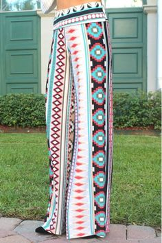 Palazzo Print Pants...cute...for my daughter!