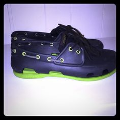 Mens Beach Line Crocs Sz M-10 Like New! Sz M-10 Only wore a few times. Paid 64.99 plus tax and shipping . Asking 30.00 firm. Please no holds- Trades- pay pal crocs Shoes Sandals