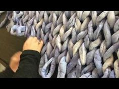 How to Hand Knit a Super Chunky Blanket- SALE, THIS WEEK ONLY 15% off all Yarn - YouTube