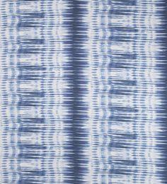 Thibaut Ikat Stripe Navy Fabric £102 / metre