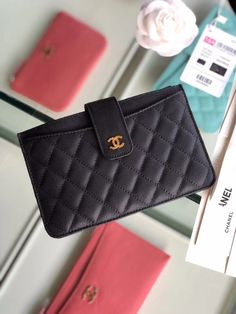 This domain may be for sale! Chanel Wallet Small, Small Wallet, Buy Chanel Bag, Chanel Purse, Handbags On Sale, Luxury Handbags, Purse Wallet, Pouch, Wallets For Women