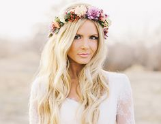15 Gorgeous Ways To Wear Your Hair Down For Your Wedding via @Byrdie Beauty