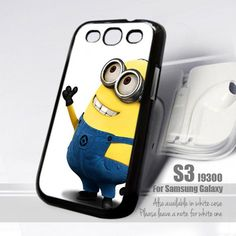 Despicable Me Minions Apple Design for Samsung Galaxy S3 fit 9300