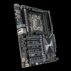 """ASUS today unveiled the X99-E 10G WS workstation motherboard. Although based on the X99 Express chipset, this board supports Intel Xeon E5-1600 and E5-2600 (v3 and v4) processors, besides Core i7 """"Haswell-E"""" and """"Broadwell-E"""" processors in the LGA2011v3 package. The board's eight DDR4 DIMM slots sup..."""