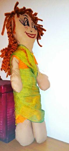 Doll wearing sari