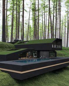 A green house...