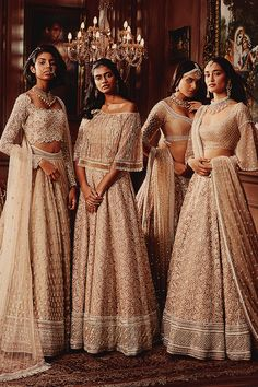 Neeta Lulla Spring Summer Campaign on Behance Indian Bridesmaid Dresses, Asian Bridal Dresses, Indian Gowns Dresses, Indian Bridal Outfits, Bridesmaid Outfit, Indian Fashion Dresses, Indian Wedding Dresses, Indian Wedding Bridesmaids, Indian Reception Outfit