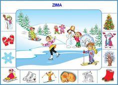 Jelek a tél Seasons Activities, Winter Activities For Kids, Speech Activities, Montessori Activities, Weather For Kids, Teaching Weather, English For Beginners, Hidden Pictures, Elementary Science