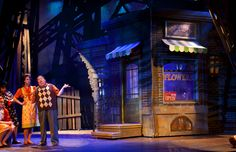 Little Shop of Horrors. Set design by Shawn Fisher.