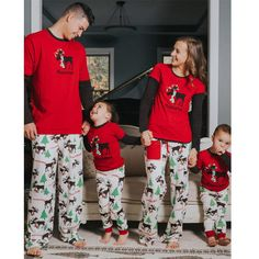 6a9f6a4861 NEW Christmas family pajamas matching family pyjama set Xmas pjs new year  family look father son mother daughter moose sleepwear.