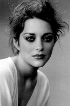 marion cotillard black and white - Google Search