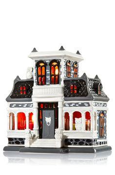 Ceramic Haunted House Mini Candle Luminary - Home Fragrance - Bath & Body Works
