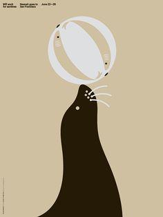 Neenah In San Francisco - Matt Chase | Design, Illustration