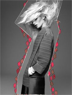 Abbey Lee Kershaw by Greg Kadel for Numéro #133