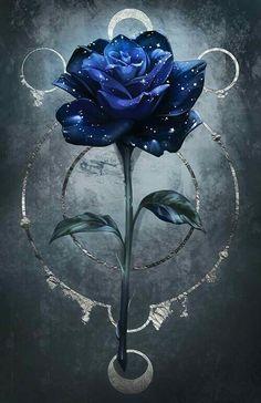 Blue Roses Wallpaper, Cute Galaxy Wallpaper, Night Sky Wallpaper, Flower Phone Wallpaper, Cute Wallpaper Backgrounds, Dark Wallpaper, Aesthetic Iphone Wallpaper, Beautiful Flowers Wallpapers, Beautiful Nature Wallpaper