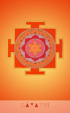 "गायत्री Goddess Illuminating Intellect ""I embody pure light"" Mantra: Om bhūr bhuvaḥ svaḥ tat savitūr vareṇyaṃ bhargo devasya dhīmahi dhiyo yo naḥ prachodayāt Vedic Mantras, Hindu Mantras, Symbols And Meanings, Sacred Symbols, Sacred Geometry Art, Sacred Art, Indiana, Silver Wall Clock, Lord Krishna Hd Wallpaper"