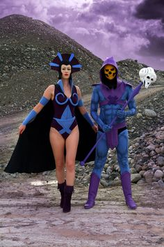 Skeletor and Evil Lyn Masters Of The Universe Cosplay | Killer Kitsch