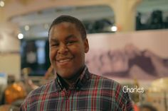 Charles is a sweet 15-year-old boy who likes music, drawing and sports. In this week's Grant Me Hope, he talks about the family he dreams of.