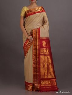 Aashrya Sandalwood Beauty #Gadwal #SilkCotton #Saree