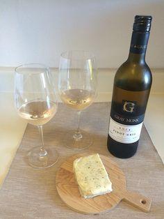 Pinot Gris and Pesto Jack Cheese