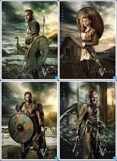 I would gladly climb into bed with each of these people. Preferably at the same time. #vikings #ladyboners                                                                                                                                                     More