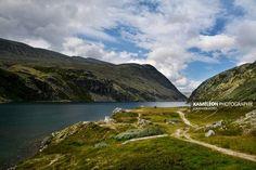 Lac du Rondvassbu en Norvège by Jonathan Guyot