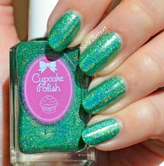 Beautiful Little Butterfly from CupcakePolish. Love the holo-ness of this shade #cupcakepolish #polishswatch #nailpolish